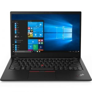 Lenovo ThinkPad X1 Carbon (7th Gen) Intel Corei7-8565U 16GB LP DDR3 Base 512GB SSD PCIe NVMe OPAL Intel HD Graphics 14.0 FHD IPS MultiTouch Win 10 Pro 64 Intel 9560 AC 2x2 + BT5.0 LTE Y-FPR TPM 2.0 IR HD Cam RJ45 adaptor 4 Cell 51Whr 65W USB-C ZA KYB BL US English 3 Year Carry-in Warranty